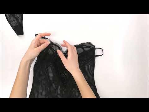 Košieľka Obsessive Carat chemise