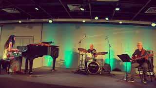 Makiko Yoneda TRIO 8 - No Title - LIVE on JazzB at São Paulo , Brazil -