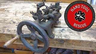 1877 Disston Hand-Cranked Band Saw Set [Rescue]