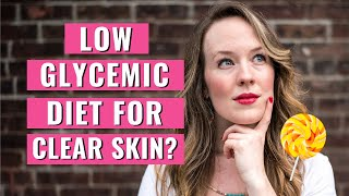 Low Glycemic Diet Acne - CLEAR ACNE FAST IN 10 DAYS!