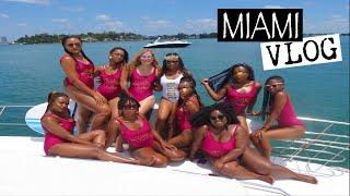 GIRLS TRIP TO MIAMI!! | Bachelorette Party Weekend! | VLOG | IT'S LIT!! 🔥