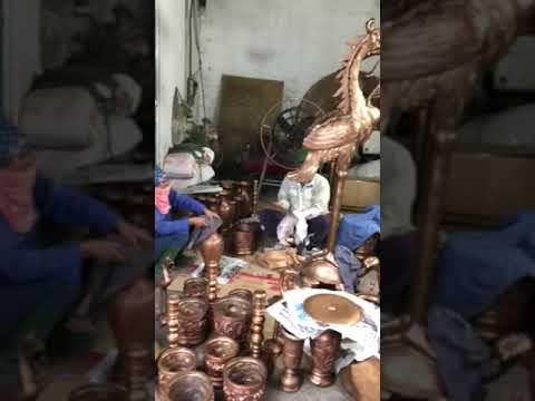 Video làm sạch đồ thờ cúng bằng đồng