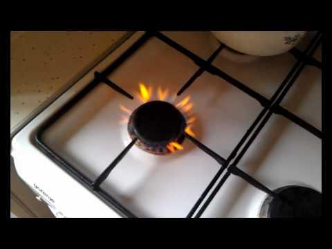 Как включить газ