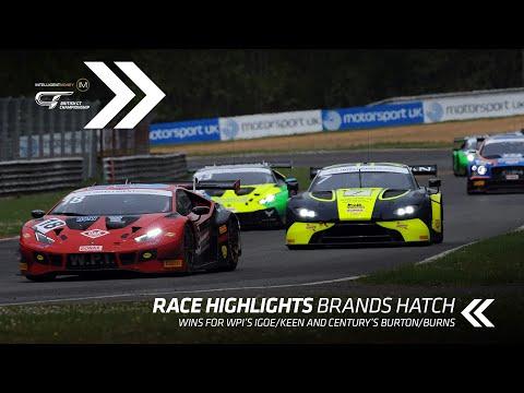 BritishGT 2021 ブランズハッチ ハイライト動画