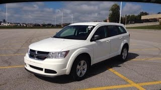 preview picture of video '2015 White Dodge Journey CVP Newmarket Ontario | MacIver Dodge Jeep'