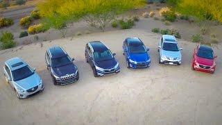 2015 Compact SUV Comparison - Kelley Blue Book