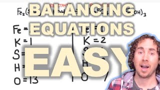 Chemistry 101 - Chemical Reactions And Balancing Chemical Equations