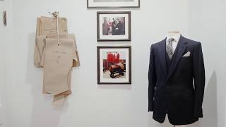 Huntsman, Savile Row opens it's doors to the new home in the Big Apple