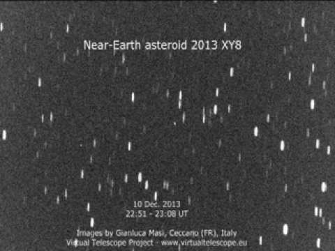 Watch A Huge, Newly Discovered Asteroid Almost Graze Earth