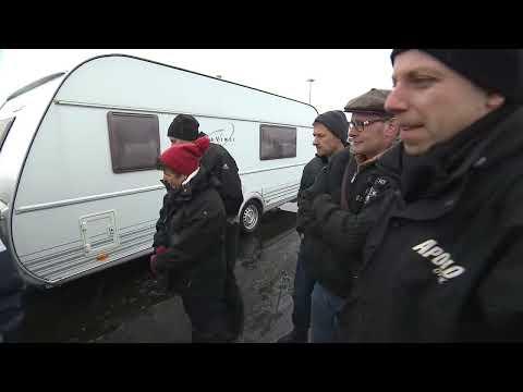 Trailer Caravan Tutorial  5 - Ausscheren und Knickwinkel - Drive University