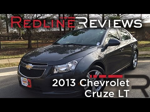 2013 Chevrolet Cruze LT Review, Walkaround, Exhaust, & Test Drive