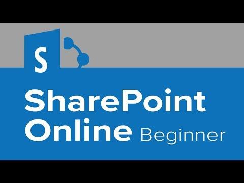 SharePoint Online Beginner