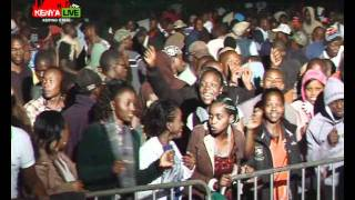 Mike Rua Performs Kiriro & Kucheza Twist Mix At KENYA LIVE Machakos Concert