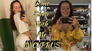 Come Shop With Me In Cyprus!  Pull&Bear, Gemshops etccc