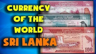Currency of the world - Sri Lanka. Sri Lankan rupee. Exchange rates Sri Lanka. Sri Lankan banknotes