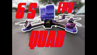 My firts 6S FPV freestyle build and maiden flight, Speed, HD footage. #reelsteady #gopro #iflight