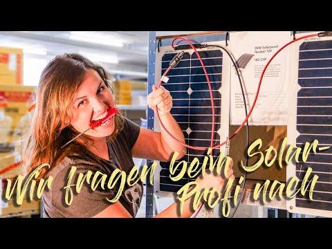 Solaranlage für Wohnmobil und Camper・Die häufigsten Fragen・Teil 1