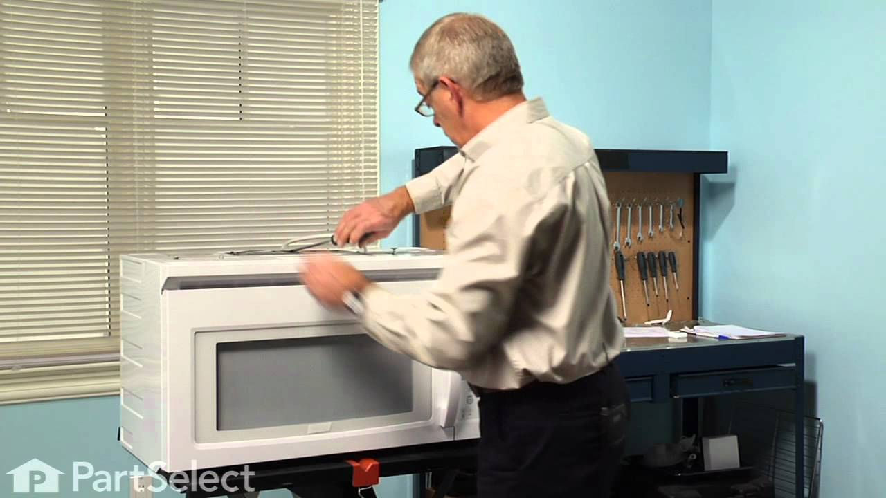 Replacing your Whirlpool Microwave Vent Grille - White