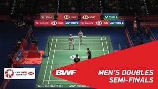 SF | MD | GIDEON/SUKAMULJO (INA) [1] vs HE/TAN (CHN) | BWF 2018