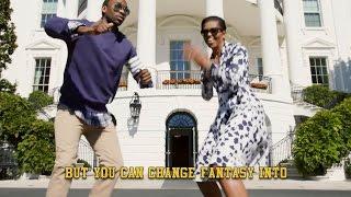 Мишель Обама и Джей Фароа читают рэп Go To College(«Поступи в колледж») Music Video