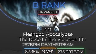 The Deceit / The Violation 1.1x +NF 87.35%!! (9.79★)