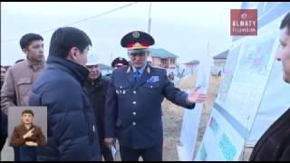 Административный центр Наурызбайского района введут в эксплуатацию в мае 2017 года (24.10.16)