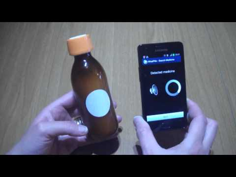 Video of NFC Talking Pill Reminder