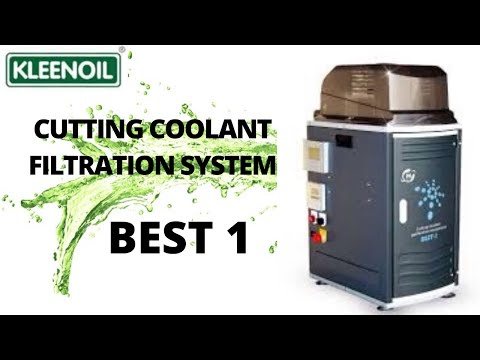 Cutting Coolant Purification