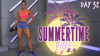 60 Minute Full Body Circuit Workout | Summertime Fine 2.0 - Day 32