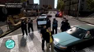 preview picture of video 'LCPDFR v1.0c - Episode 3 - Clumsy Police, Drunk Peds, Too many Backups'