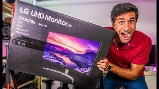 O MELHOR MONITOR 4K HDR Ultra HD que já Testei - LG 27UK850W