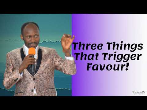 #Apostle Johnson Suleman(Prof) #Three Things That Trigger Favour
