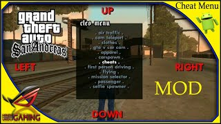 download mod gta san andreas cheat menu