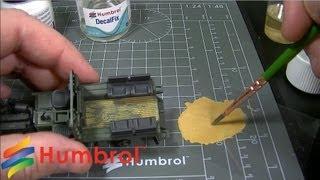 Оксид хрома. Сухой пигмент 28мл. HUMBROL AV005 от компании Хоббинет. Сборные модели. - видео