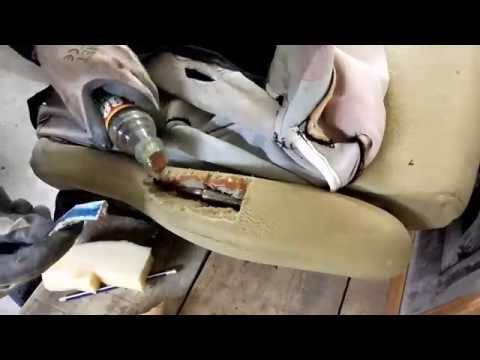 Ремонт сиденья Гольф 3 / Repair seats Golf 3