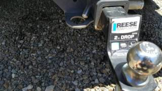 Fix Lost Key Hitch Pin Lock - Done in 7 Seconds!