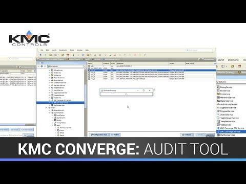 KMC Converge: Audit Tool