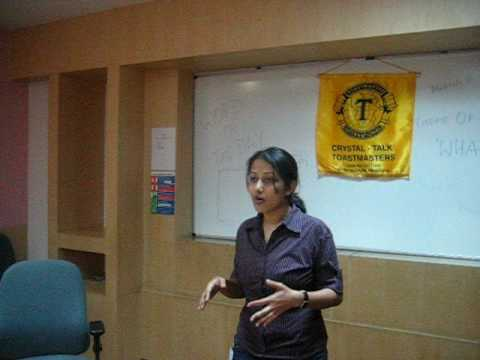 Toastmasters speech 1