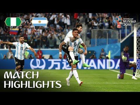 Nigeria v Argentina - 2018 FIFA World Cup Russia™ - Match 39