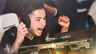 CS:GO - BEST OF KENNYS! - Inhuman Reactions! AWP Flickshot Highlights! (Clutches,Aces,Plays)