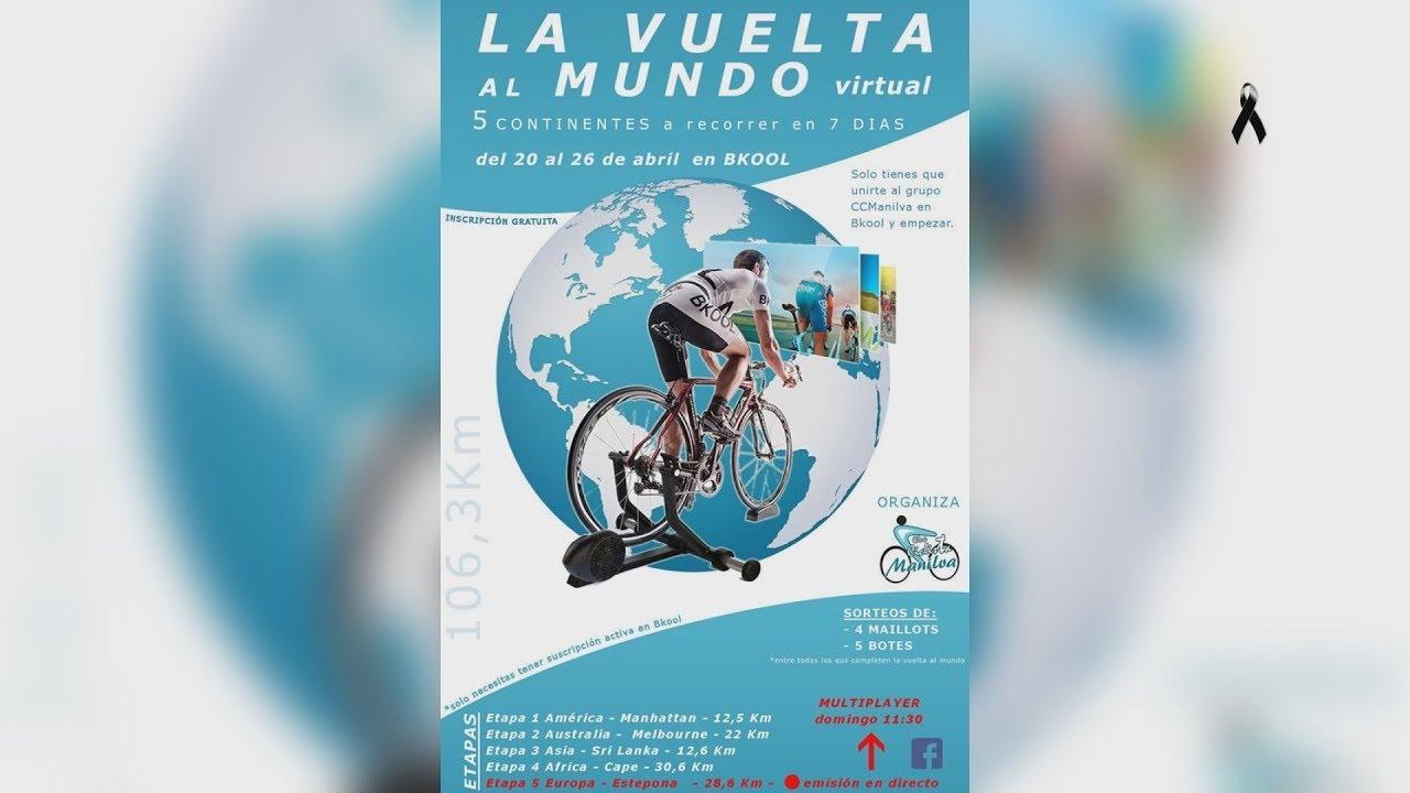 Vuelta al mundo virtual del Club Ciclista de Manilva