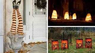 Homemade Outdoor Halloween Decorations