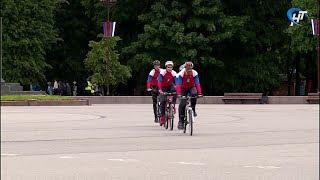В Новгородскую область прибыли участники велопробега «Маршрут Победы»