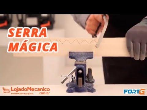 Serra Mágica Multifuncional - Video