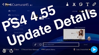 PS4 4.55 System Software Update Details Livestream Discussion