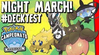 Zebstrika  - (Pokémon) - ✪ Pokémon TCG - Night March Zebstrika! #DECKTEST