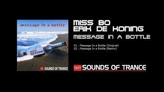 Miss Bo & Erik de Koning - Message In A Bottle (Original) Official Video