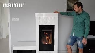 Каминофен Hein DOLO 1 с лавочкой ( кафельная печь ) від компанії House heat - відео