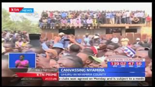 President Uhuru Kenyatta tells Nyamira residents that NASA has nothing new to offer