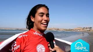 Surfista Sol Aguirre ganó en campeonato O'Neill Pro Junior